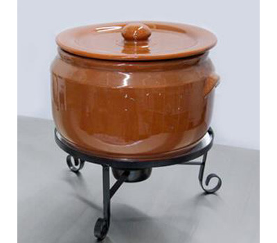 aluguel cacarola de ceramica