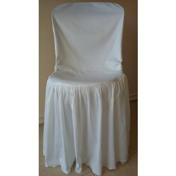 Aluguel Capa de Cadeira Fantasma Branca