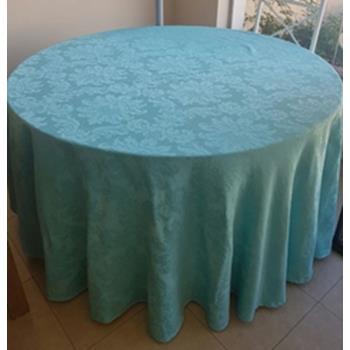 Aluguel Toalha Adamascada Azul Tiffany 2,80 dm 1