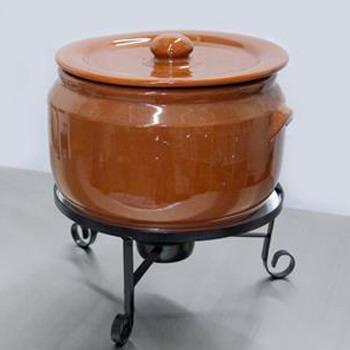 Aluguel Caçarola de Cerâmica com queimador