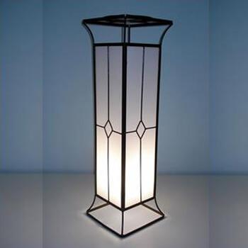 Aluguel Coluna de Ferro com Acrílico Iluminada 90 cm 1