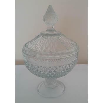 Aluguel Baleiro de Vidro Cristal 1