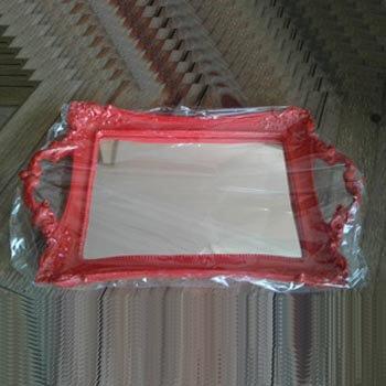 bande resina espelhada vermelha