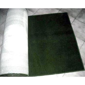 tapete verde musgo