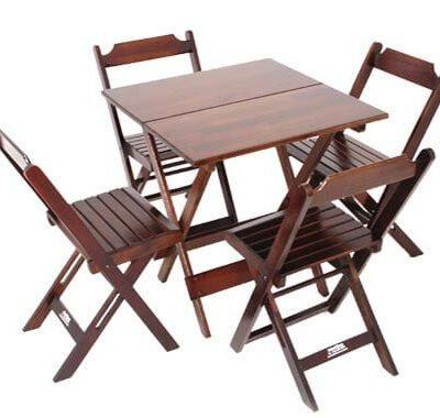 aluguel de jogo de mesa de madeira mm locacao