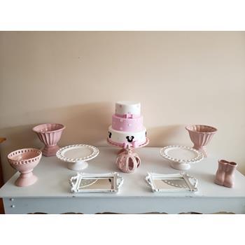 Aluguel Kit Tema Minnie Baby Rosa 1