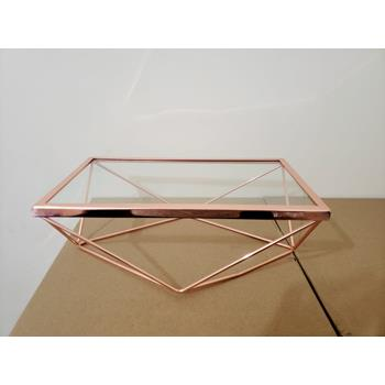 Aluguel Porta Doce Diamante Rose Retangular 1