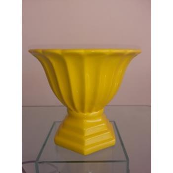 Aluguel Vaso Romano de Porcelana Amarelo 1