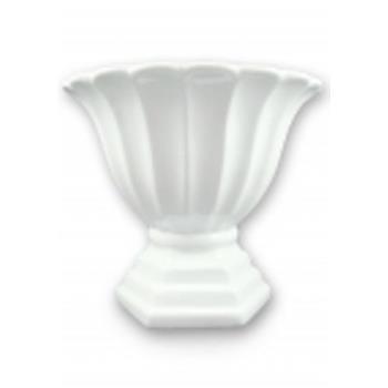 Aluguel Vaso Romano de Porcelana Branco 1